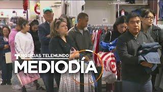 Así están las tiendas para las personas comprando regalos de último minuto   Noticias Telemundo
