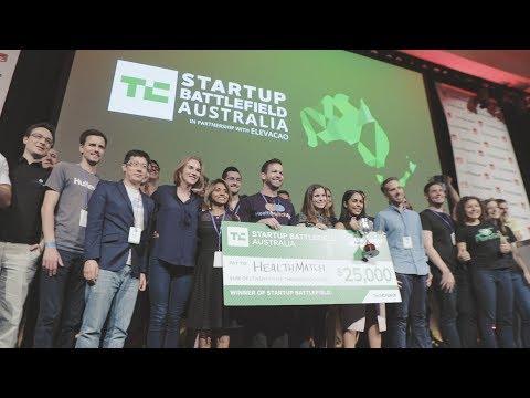 Highlights from Startup Battlefield Australia 2017