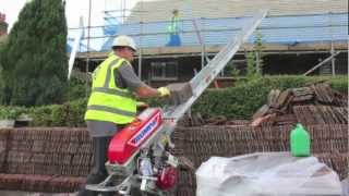Bumpa Portable Conveyor (Tile Hoist) - YouTube