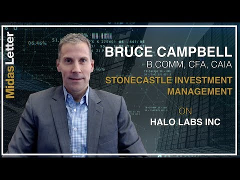 Bruce Campbell on Top Stock to Play the Emerging U.S. Cannabis Industry: Halo Labs Inc (NEO:HALO)