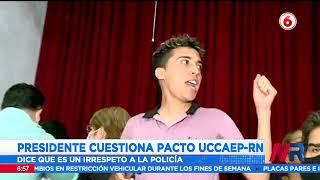 Gobierno criticó el acuerdo de Uccaep con Rescate Nacional