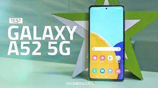 vidéo test Samsung Galaxy A52 par Les Numeriques