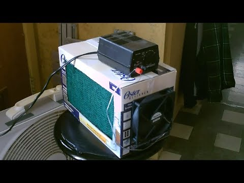 "DIY Air Purifier! - Homemade ""Box Style"" Air Filtering Cube - Easy DIY - can be solar powered"