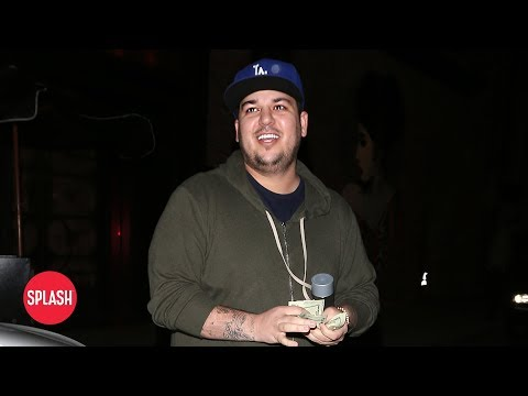 connectYoutube - Rob Kardashian Donates to Blac Chyna's Assistant | Daily Celebrity News | Splash TV