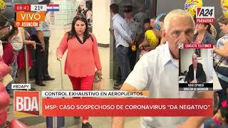 #BDAPy - Control extenuante en aeropuertos por casos sospechosos de coronavirus