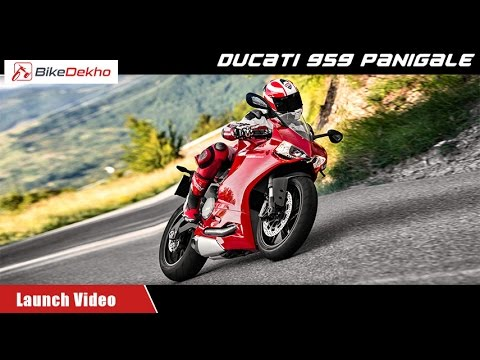 Ducati 959 Panigale | Launch at IBW | BikeDekho.com