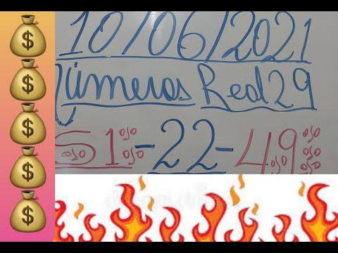 NUMEROS PARA HOY 10/06/2021 DE JUNIO PARA TODAS LAS LOTERIAS