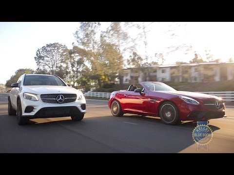 Unlikely Comparison - Mercedes-AMG GLC 43 vs. SLC 43