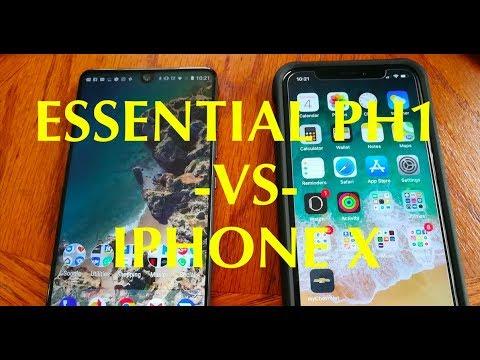 ESSENTIAL PH1 VS IPHONE X LIVE STREAM GOOD MORNING 11-5-17