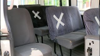 Transportistas adoptan medidas para ofrecer servicios ante el COVID-19
