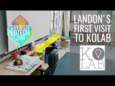 Landon's First Visit to the KoLAB Makerspace
