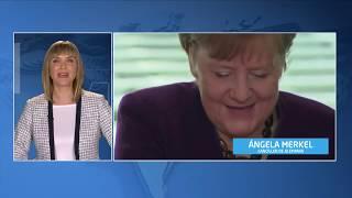 Ñapa uno   Desplante de un ministro a la canciller alemana, Ángela Merkel, por temor al coronavirus