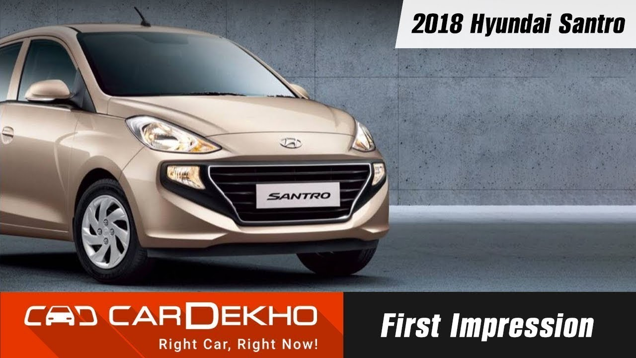 2018 Hyundai Santro First Impression: Engine Details, Variants And Expected Price | CarDekho.com