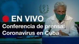 ???? #EnVivoCanalCaribeCuba?Conferencia de prensa del Ministerio de Salud Pública (30/06/2020)