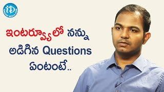 Civils Topper (76th Rank) Surya Teja about his Civils Interview Process | Dil Se With Anjali - IDREAMMOVIES