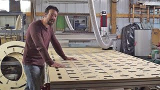 Building a 5'x10' CNC Router from CNC Routerparts