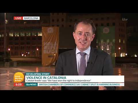 connectYoutube - Violence in Catalonia | Good Morning Britain