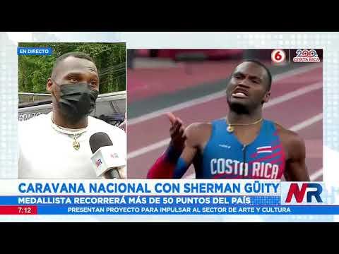 Caravana nacional con medallista Sherman Güity