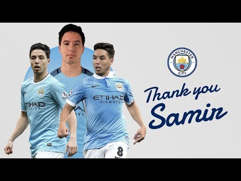 SAMIR NASRI LEAVES CITY | Nasri's Best Bits