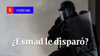 ¿Joven de 15 años fue asesinado por el Esmad en desalojo en Soacha | Semana Noticias