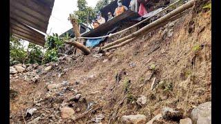 Se reportan colapsos estructurales y derrumbes