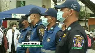 Municipio interviene sectores con más casos de Covid-19 en Guayaquil