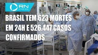 Coronavírus: Brasil tem 29.937 mortes e 526.447 casos confirmados
