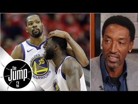Scottie Pippen compares Durant-Draymond tension to '98 Bulls | The Jump