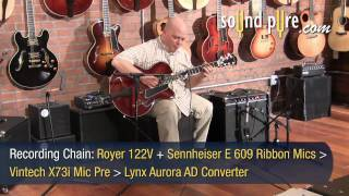 Eastman Archtop T146SX #1321 Guitar Demo and Review