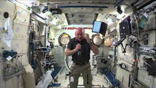 One-Year Space Station Crew Member Discusses Life In Space With The Media