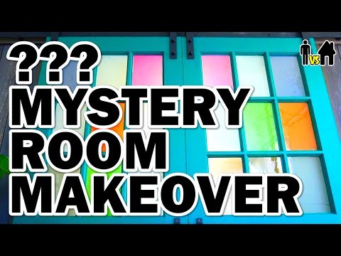 connectYoutube - Mystery Room Makeover + We Build a Greenhouse! - Man Vs House Ep.2