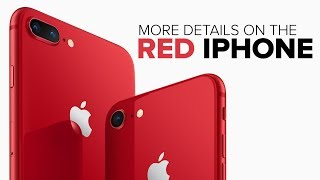 Apple's red iPhone 8 arrives April 13 (CNET News)