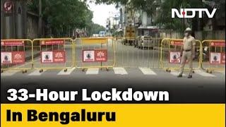 "COVID-19 News - ""Heavens Won't Fall"": Bengaluru Police Chief On 33-Hour Lockdown - NDTV"