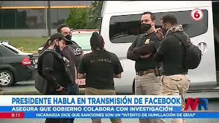 Presidente Alvarado asegura que el gobierno colabora con investigación sobre allanamientos
