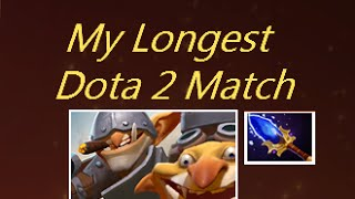 My Longest Dota 2 Match Techies Gameplay Commentary Ranked