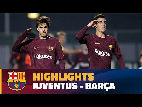 [HIGHLIGHTS] YOUTH LEAGUE: Juventus - FC Barcelona (0-1)