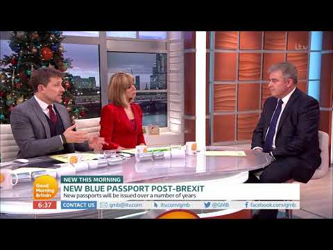 connectYoutube - New Blue Passport Post-Brexit | Good Morning Britain