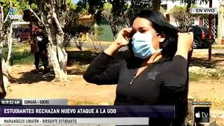 Dirigencia estudiantil en el estado Sucre denunció incendio provocado en la UDO - VPItv