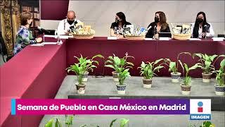 Presenta gobierno estatal la semana de Puebla en