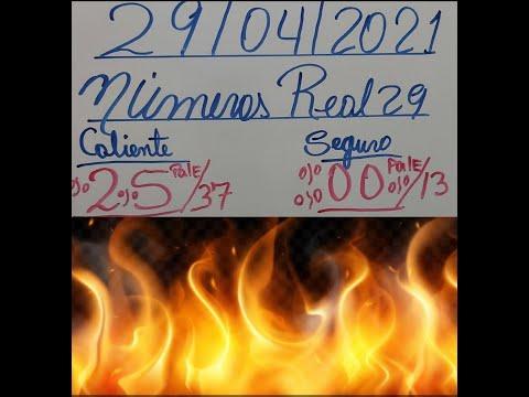 NÚMEROS DE HOY 29/04/2021 DE ABRIL PARA TODAS LAS LOTERIAS(NUMEROS PARA HOY JUEVES)