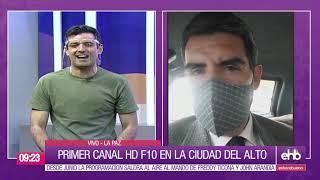 Primer CANAL HD en la ciudad de El Alto