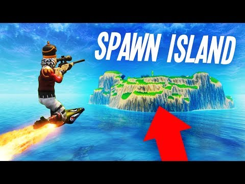 connectYoutube - ROCKET RIDING to SPAWN ISLAND on Fortnite!