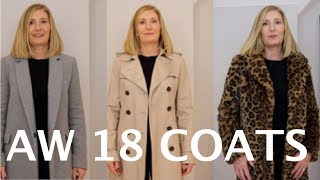 AW 18 Coats Collection || Must Haves for Winter