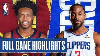 CAVALIERS at CLIPPERS | FULL GAME HIGHLIGHTS | January 14, 2020