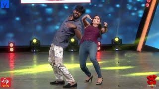 Sudigali Sudheer backslashu0026 Rashmi Gautam Funny Task Performance - Dhee Champions - 7th October 2020 - MALLEMALATV