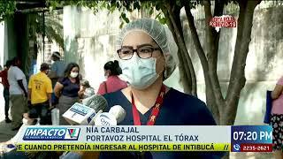 Solo emergencias y casos de Covid-19 atenderá el Hospital del Tórax