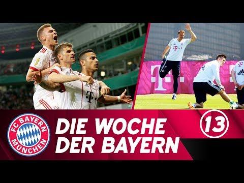 Die Woche der Bayern: Wir fahren nach Berlin & Neuer zurück im Mannschaftstraining | Ausgabe 12