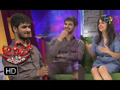 Alitho Saradaga | 12th December 2016 | Nikhil | Nandita Swetha | Full Episode | ETV Telugu | cinevedika.com