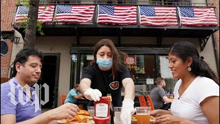 Finally enjoying a meal outside: D.C. enters 'phase 1' of reopening