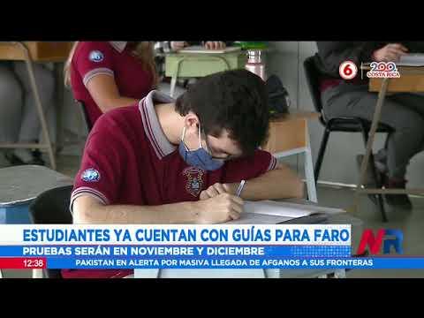 Estudiantes ya cuentan con guías para pruebas FARO